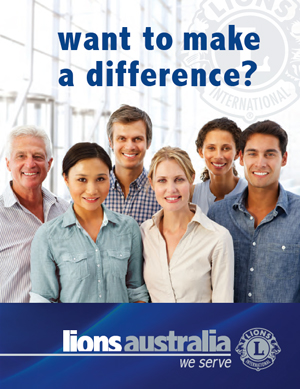 Lions Australia brochure - want to make a difference
